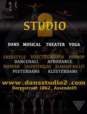 Flyer Dansstudio 2 2016