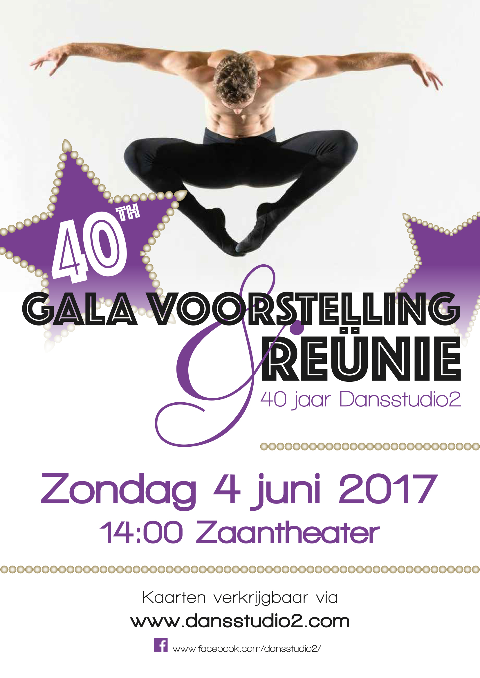 Galavoorstelling en Reünie 40th